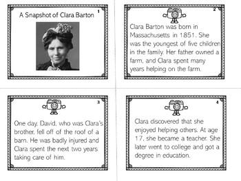Clara Barton | Biography Activity