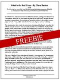 Clara Barton - American Red Cross Activity (Freebie)