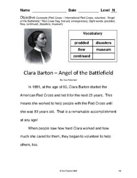 Clara Barton - Angel of the Battlefield