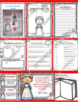 Clara Barton Biography Unit ~ 95 pages!