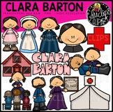 Clara Barton Clip Art Bundle {Educlips Clipart}