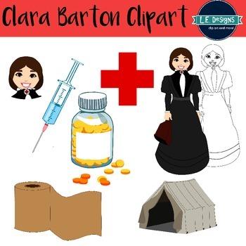 Clara Barton Clipart