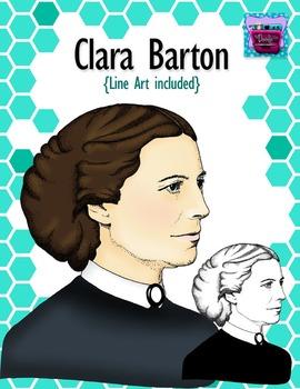 Clara Barton Clipart - Realistic Image