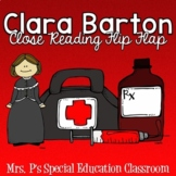 Clara Barton Close Reading Flip Flap