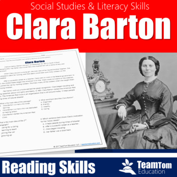 Clara Barton [Social Studies Reading Passages]