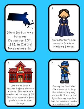 Clara Barton and Harriet Tubman Scavenger Hunt