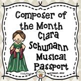 Clara Schumann Passport (Composer of the Month)