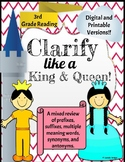 Clarify like a King and Queen Digital and Printable Versions