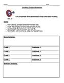 Clarifying Complex Sentences