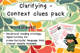 Clarifying - Context Clues Pack