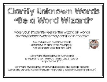 Clarifying Words