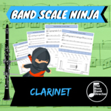 Clarinet / Bass Clarinet Scale Ninja