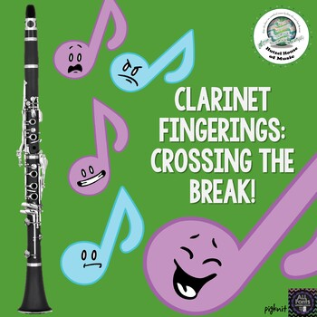 Clarinet Fingering Chart: Crossing the Break- Chalumeau to Clarion Registers