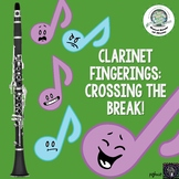 Clarinet Fingering Chart for Crossing the Break Distance Learning