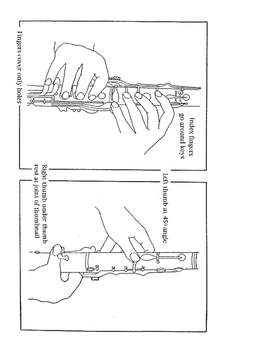 Clarinet & Low Clarinet Helps & Illustrations for Beginners