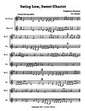 """Clarinet and French horn Duet: """"Swing Low, Sweet Chariot"""""""