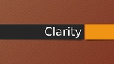 Clarity Powerpoint