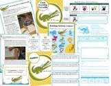 Math Problem-Solving Unit {Clark Counting Crocodile} Distance Learning