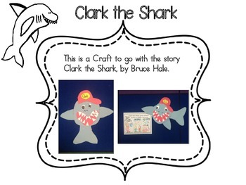 Shark Craftivity/ Ocean / School Rules