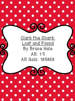 Clark the Shark Lost and Found