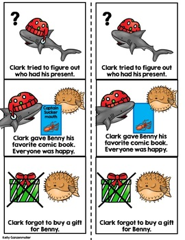 Clark the Shark Loves Christmas {Differentiated Sequencing Craft}