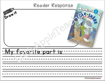 Clark the Shark - Reader Response - Tooth Trouble