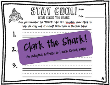 Clark the Shark- School Rules