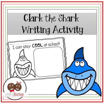 shark writing