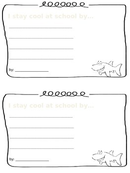 Clark the Shark Writing Prompt