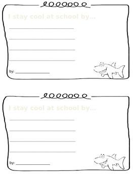 Clark the Shark Writing Prompt