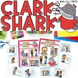 Clark the Shark Self-Control Activities Digital Distance Learning & Printable
