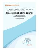 Clase 9, Presente / Verbos Irregulares.