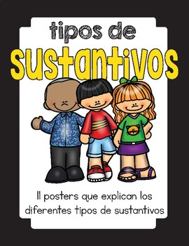 Clases de sustantivos/ Types of Nouns in Spanish