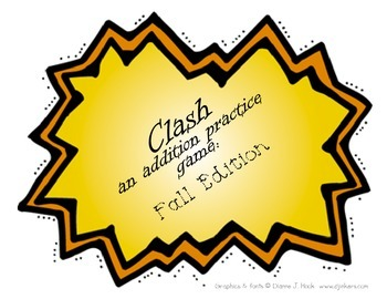 Clash an addition practice game: Fall Edition