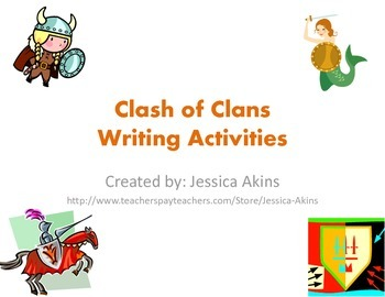 Clash of Clans writing prompts and projects