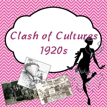 Clash of Cultures 1920s PowerPoint