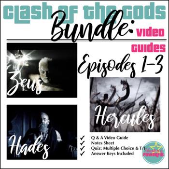 Clash of the Gods Episodes 1-3 Bundle: Zeus, Hades, Hercules Video Guides