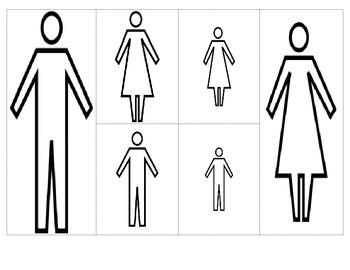 Clasifica por tamaño, color o tipo. - Sort by size, color or type