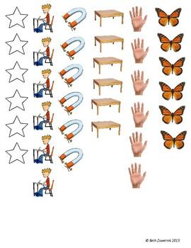 Clasificación de palabras por cantidad de sílabas/Syllable Sort/Sensory Sort