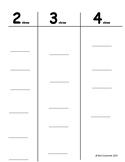 Clasificación de palabras por cantidad de sílabas/Syllable