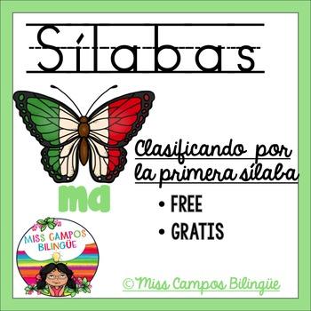 Silabas Iniciales con M, P, S, L - GRATIS