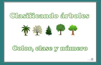 Clasificando árboles