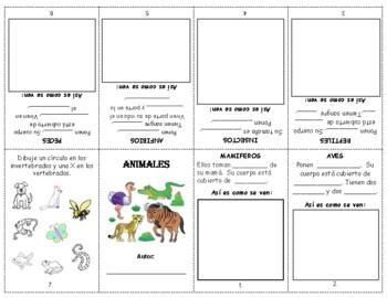 CLASIFICAR ANIMALES - librito