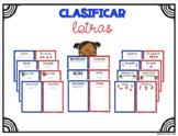 Clasificar Letras - Letter Sorting Mats