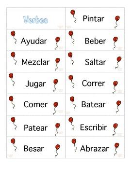 Clasificar Vocabulario (Gramatica) Centros Escritura