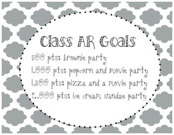 Class AR Goals (Quatrefoil)