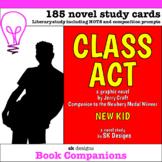 Class Act  (Jerry Craft) Graphic Novel Study Classroom & D