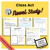Class Act by Jerry Craft - Printable + Digital Novel Study