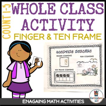 Class Activity 1.1: Counting 1 to 5 Using Fingers and Ten Frames Poster Activity