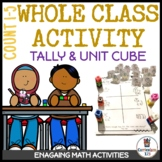 Class Activity 1.2: Counting Animals 1 to 5 Using Tally and Math Cubes Activity